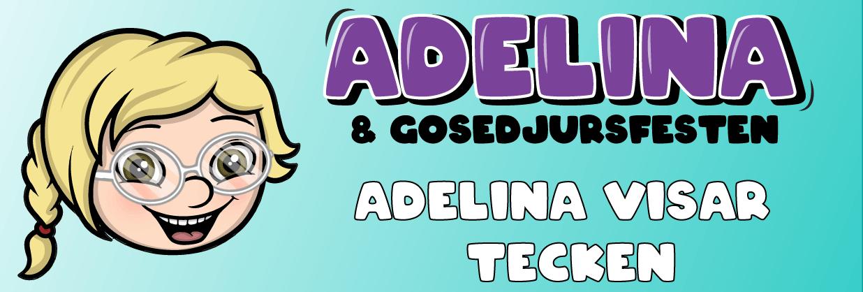 Adelina visar tecken
